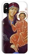 Saint Mary With Baby Jesus IPhone Case