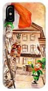 Saint Patricks Pub IPhone Case