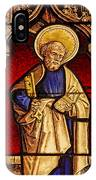 Saint Peter  Stained Glass IPhone X Case