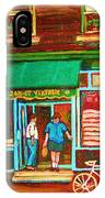 Saint Viateur Bakery IPhone Case