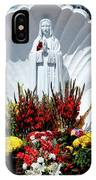 Saint Virgin Mary Statue #2 IPhone Case