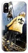 Saints Summit In New Orleans IPhone Case