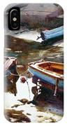 Salcombe Boatyard IPhone Case