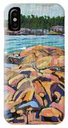 Salmon Rocks IPhone Case