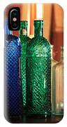 Saloon Bottles IPhone Case