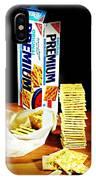 Saltine Crackers IPhone X Case