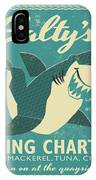 Salty's Fishing Charters IPhone Case