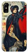 Salvation Army Poster, 1919 IPhone Case