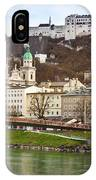 Salzburg City And Fortress  IPhone Case