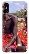 Samburu Couple IPhone X Case