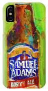 Samuel Adams Boston Ale IPhone Case