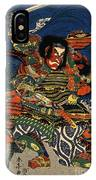 Samurai Warriors Battle 1819 IPhone Case