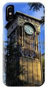 San Antonio Clock IPhone Case