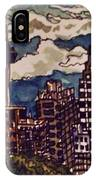 San Antonio Skyline IPhone Case