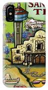 San Antonio Texas IPhone Case