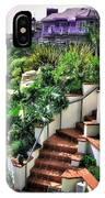 San Clemente Estate Backyard IPhone Case