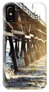 San Clemente Pier Magic Hour IPhone Case