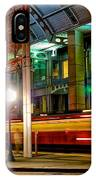 San Diego Trolley Station IPhone Case