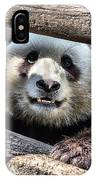 San Diego Zoo California Giant Panda IPhone Case