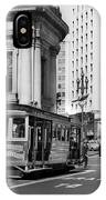 San Francisco Cable Car During Wwii IPhone Case