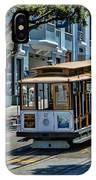 San Francisco, Cable Cars -2 IPhone Case