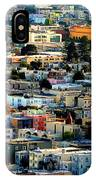 San Francisco California Scenic  Rooftop Landscape IPhone Case