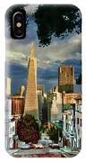 San Francisco Cliff IPhone Case