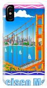 San Francisco Marathon Panorama IPhone Case