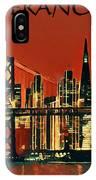 San Francisco Poster IPhone Case