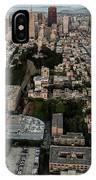 San Francisco Skyline And Coit Towersan Francisco Skyline And Coit Tower IPhone Case