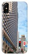 San Francisco Street View - Parc 55  IPhone Case