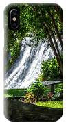 San Saba Waterfall IPhone Case