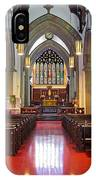 Sanctuary Christ Church Cathedral 1 IPhone Case