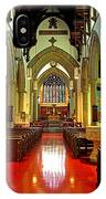 Sanctuary Christ Church Cathedral 2 IPhone Case