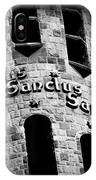 Sanctus Sanctus Sanctus IPhone Case