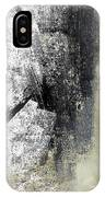 Sand And Steel- Abstract Art IPhone Case