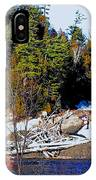 Sand River Falls IPhone Case