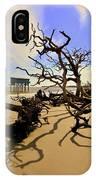 Sand Sun Beach And Little Blue IPhone Case by Lisa Wooten