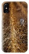 Sandhill Cranes - Cornfield IPhone Case