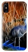 Sandhill Cranes Pair Fractal IPhone Case