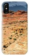 Sandstone Landscape Valley Of Fire IPhone Case