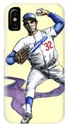 Sandy Koufax IPhone Case