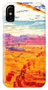 Sangry Valley IPhone Case