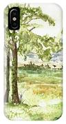 Sanibel Shores Sketch IPhone Case