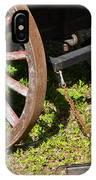 Sanibel Village Wagon Wheels IPhone Case
