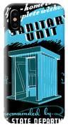 Sanitary Unit Fap Poster IPhone Case