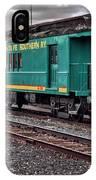 Santa Fe Rail Yard IPhone Case