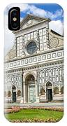 Santa Maria Novella IPhone Case