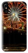 Santa Monica Pier October 18 2007  IPhone Case