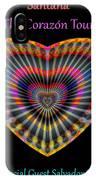 Santana The Corazon Tour IPhone Case by Visual Artist Frank Bonilla